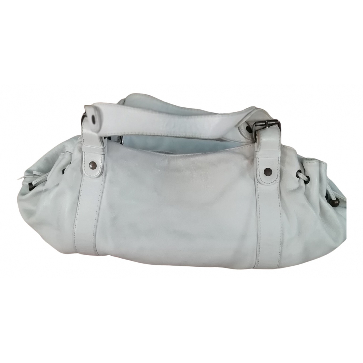Gerard Darel 24h Handtasche in  Weiss Leder