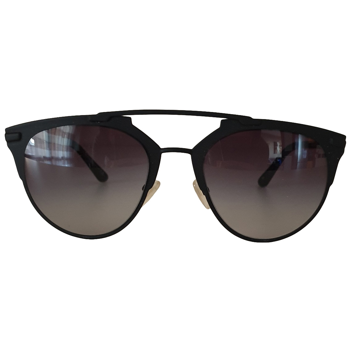 Non Signé / Unsigned \N Black Sunglasses for Women \N