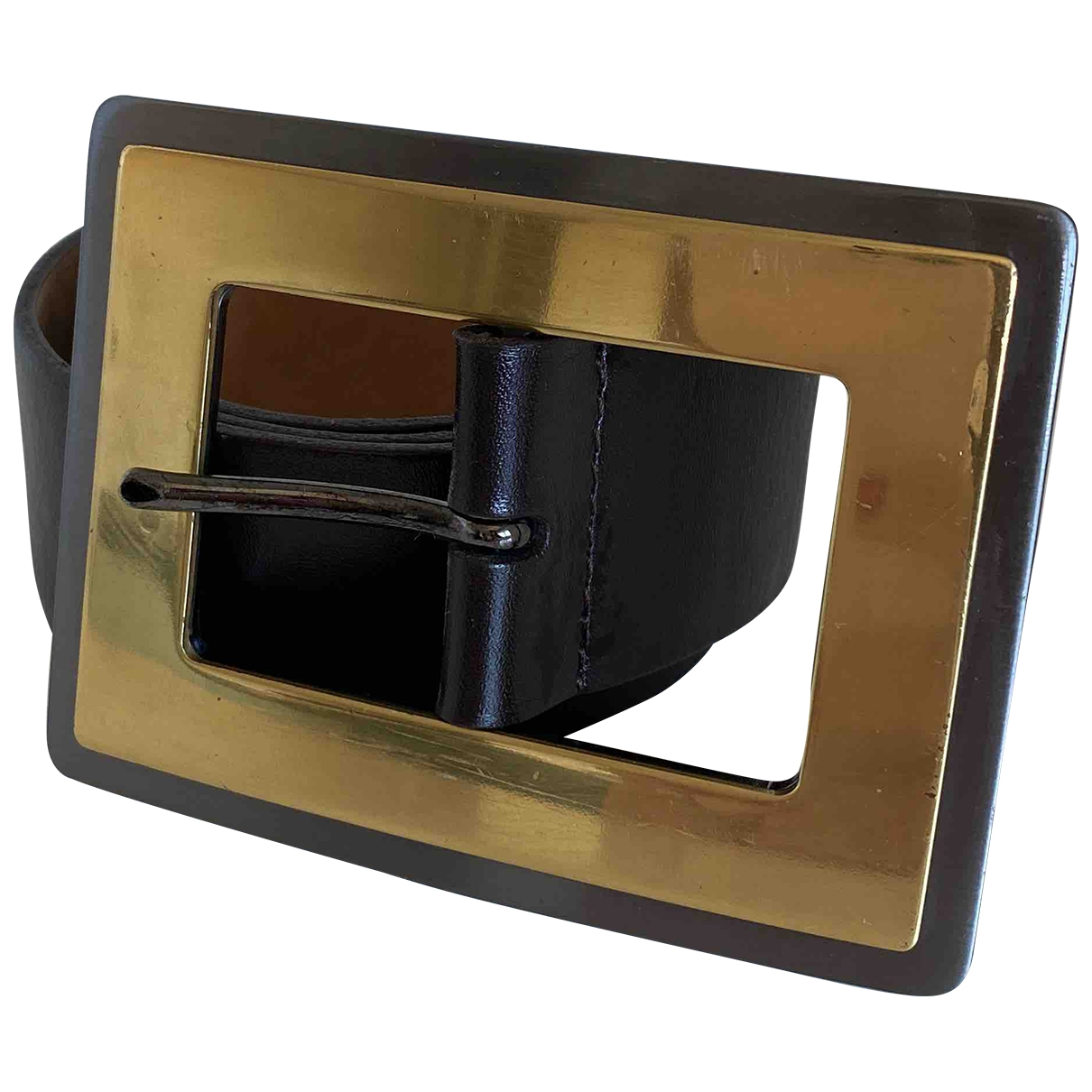 Dolce & Gabbana \N Brown Leather belt for Women 85 cm