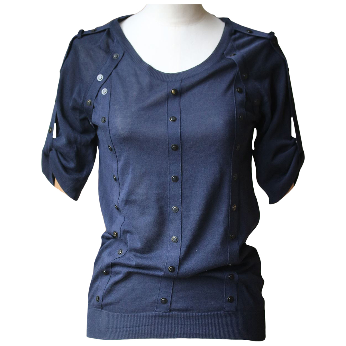 Burberry N Blue Cotton  top for Women S International