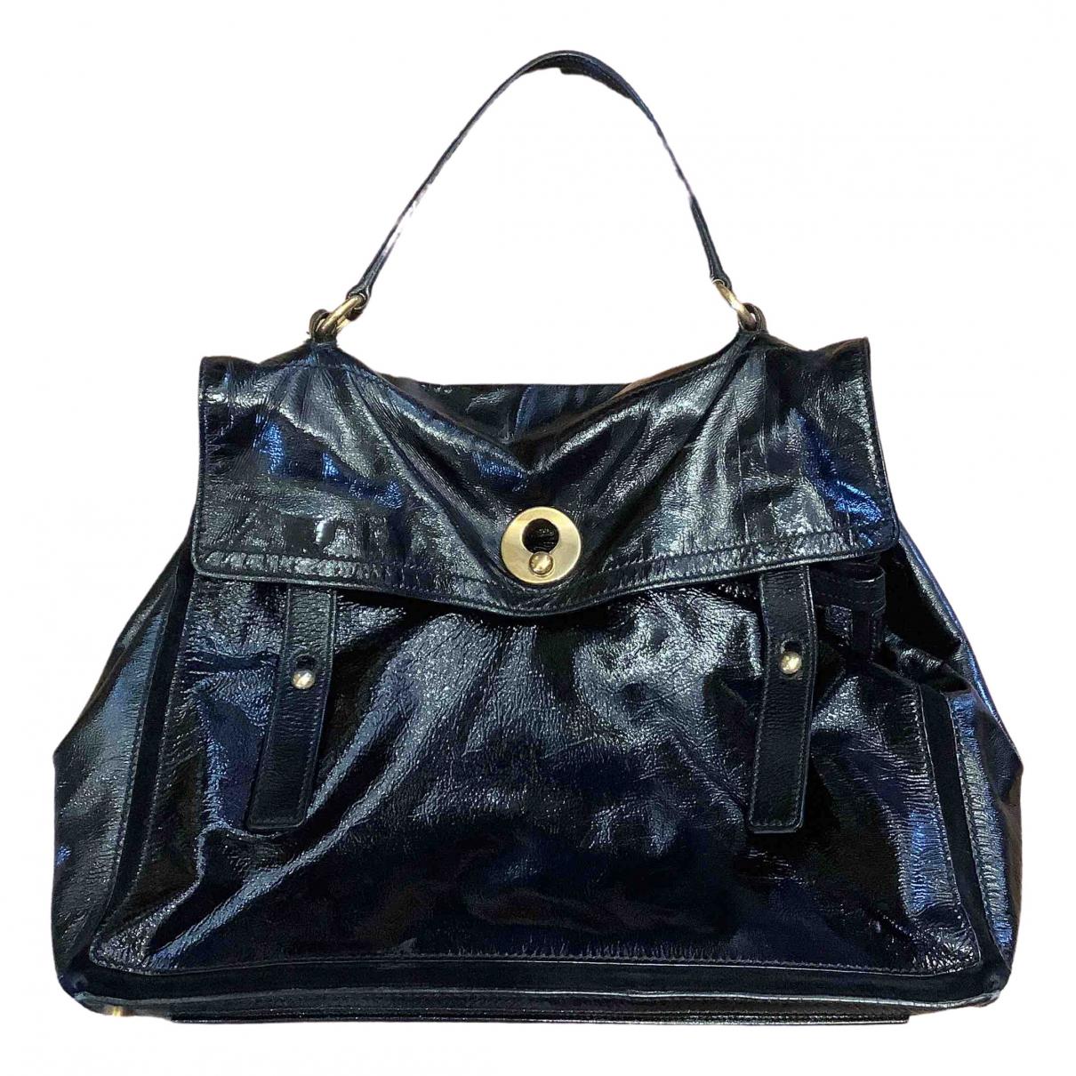 Yves Saint Laurent Muse Two Black Patent leather handbag for Women \N