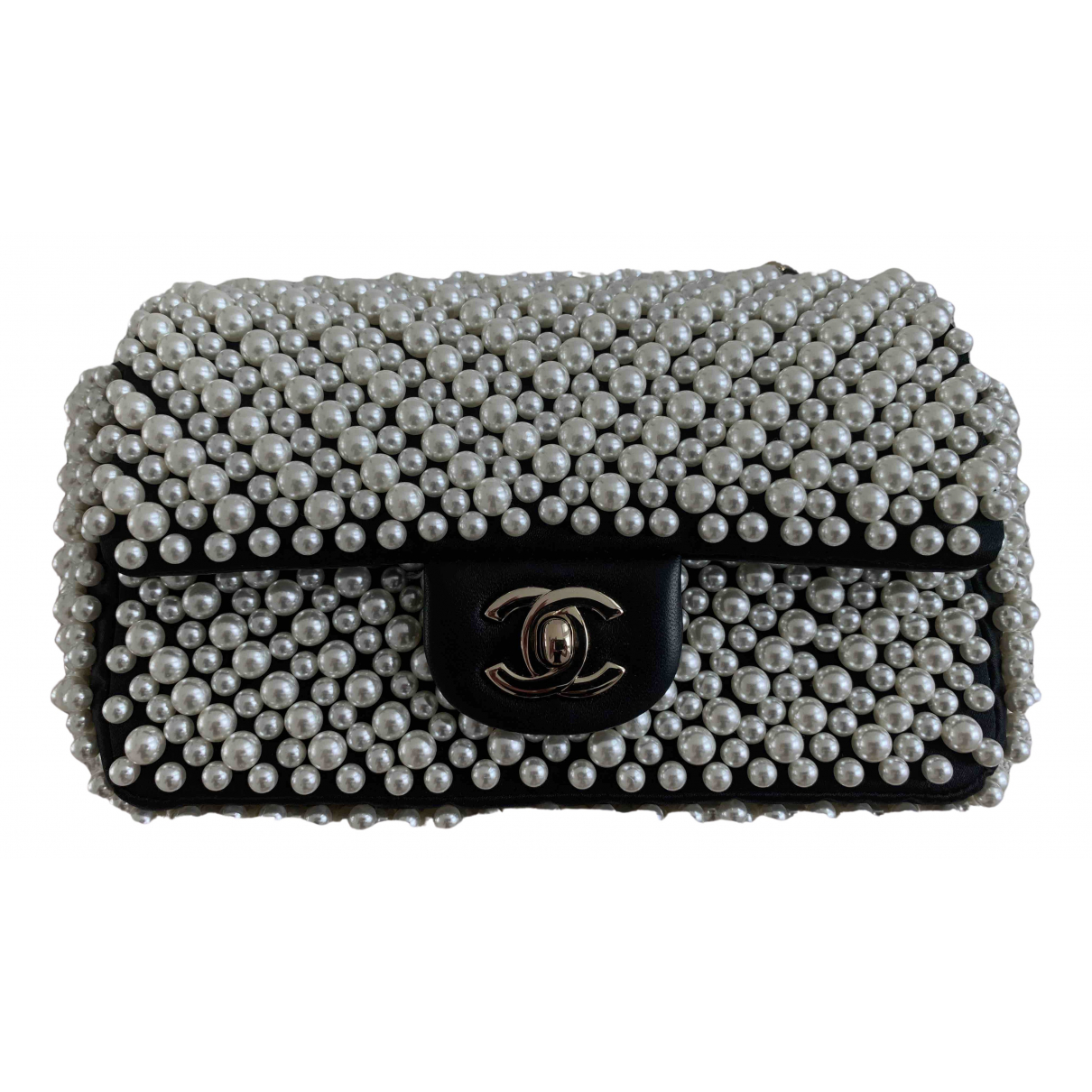 Chanel Timeless/Classique Black Cloth handbag for Women \N