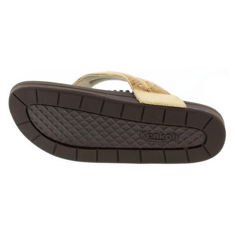 Kenkoh Spirit V Cork Metallic Massage Sandal 28