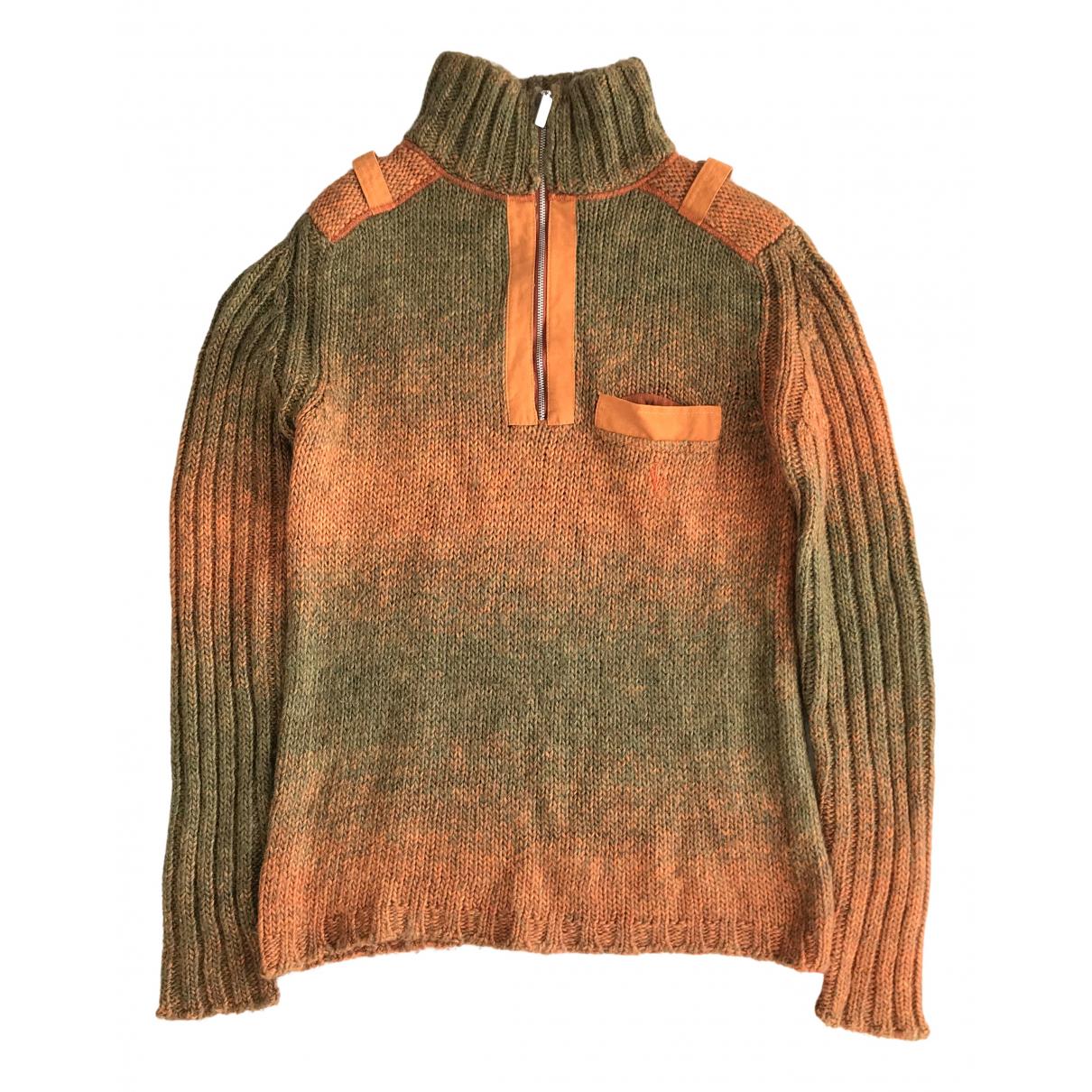 Versace Jean - Pulls.Gilets.Sweats   pour homme en laine - orange