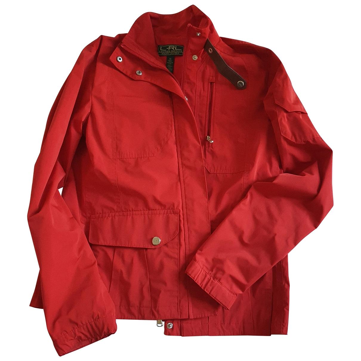 Lauren Ralph Lauren \N Jacke in  Rot Polyester