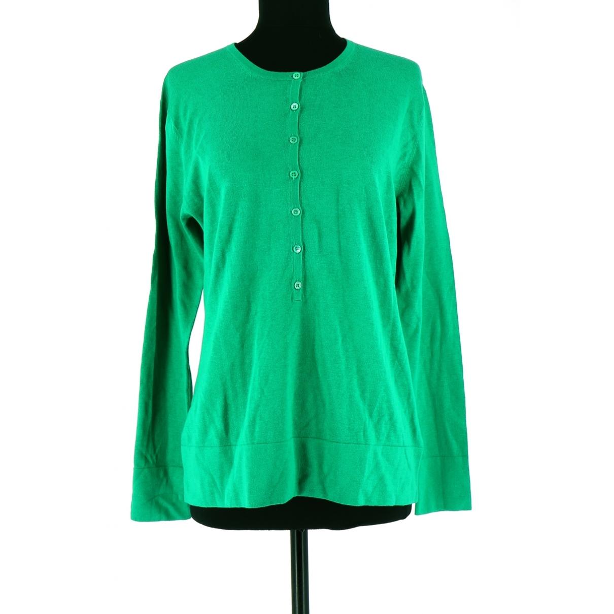 Eric Bompard \N Green Cashmere Knitwear for Women 42 FR