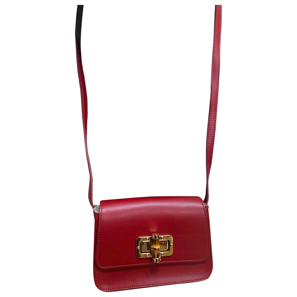 Intrend \N Red Leather handbag for Women \N