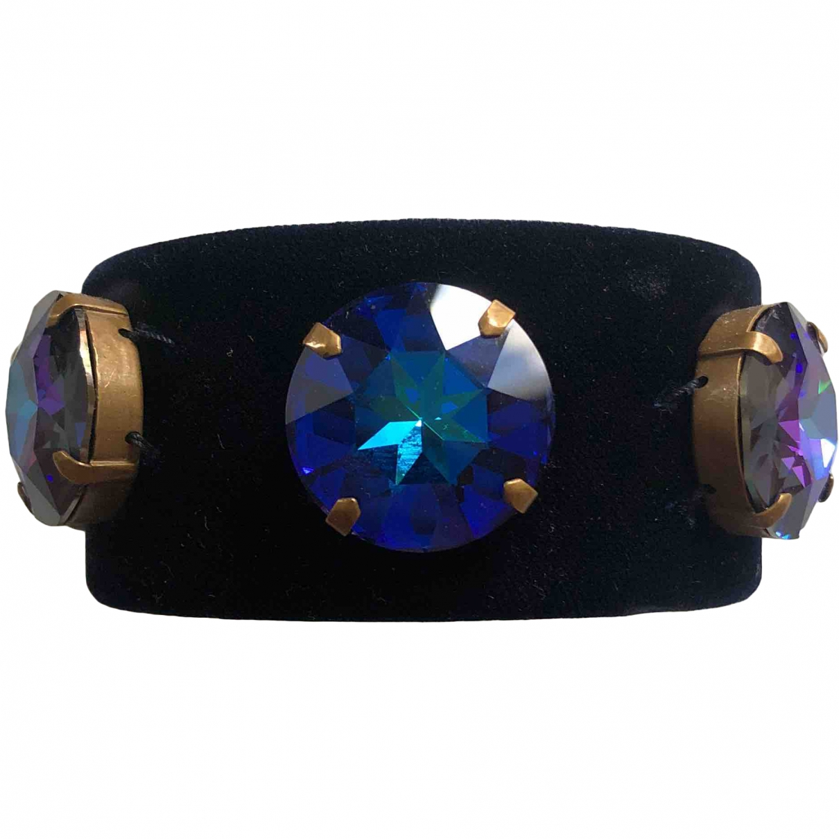 Miu Miu \N Armband in  Blau Leinen