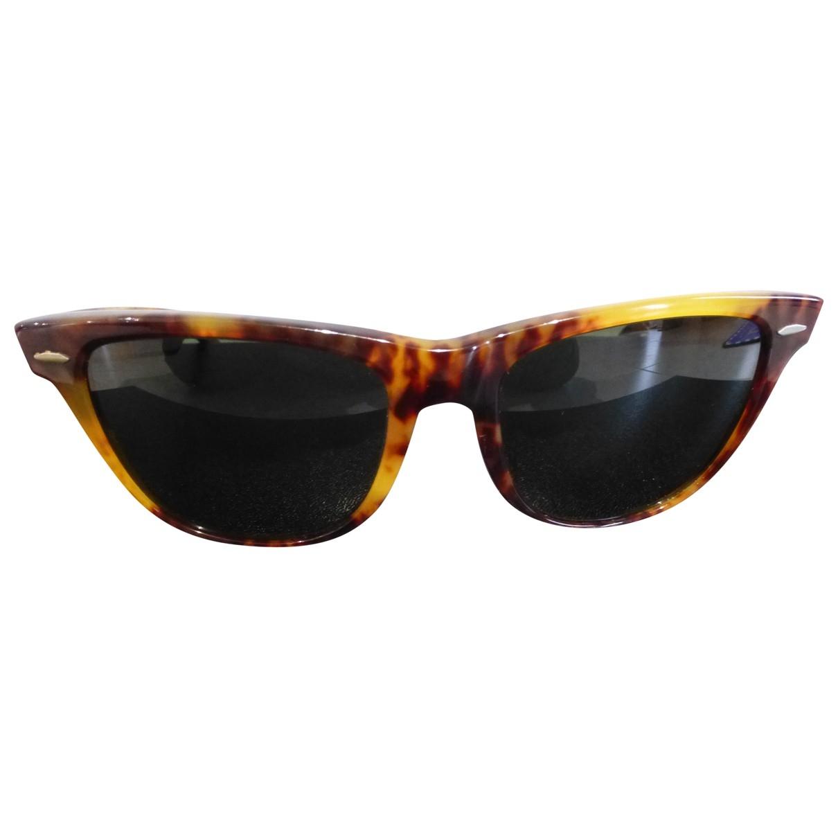 Ray-ban Original Wayfarer Brown Sunglasses for Men \N
