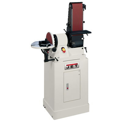 Belt/Disc Sander with Closed Stand, Model JSG-96CS