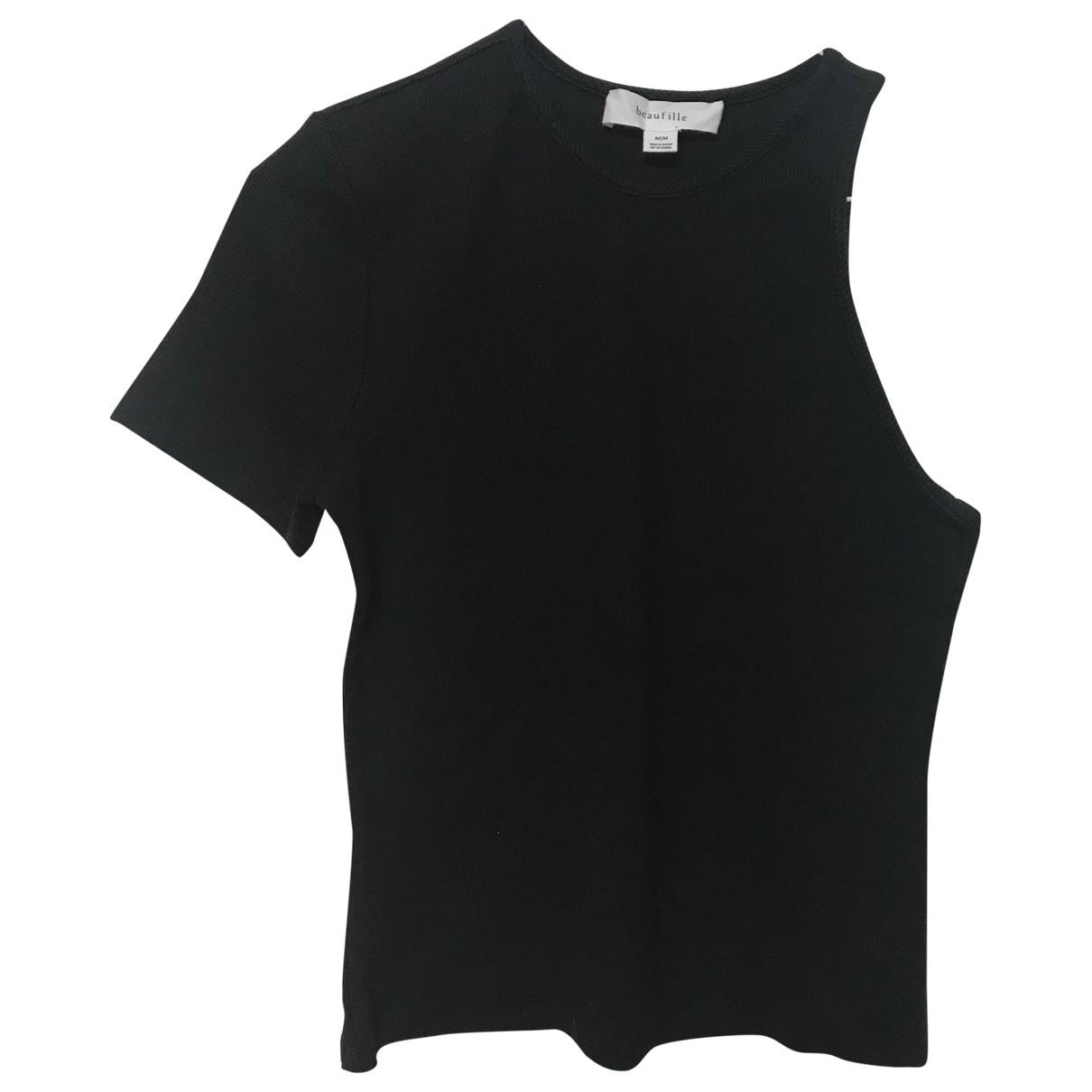 Beaufille \N Black Cotton  top for Women M International