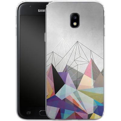 Samsung Galaxy J3 (2017) Silikon Handyhuelle - Colorflash 3 von Mareike Bohmer