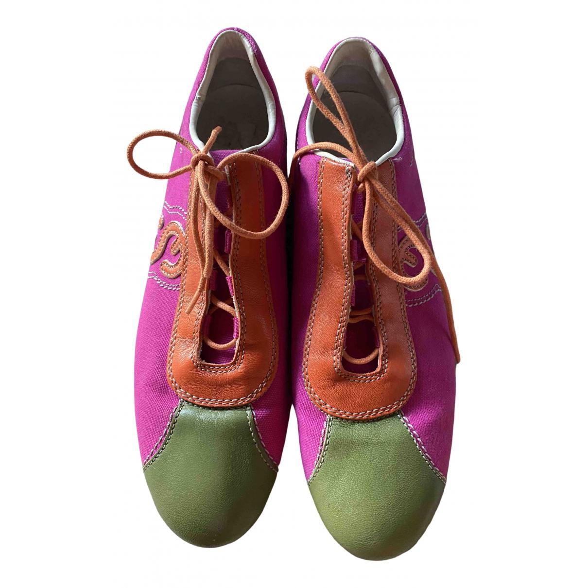 Escada \N Sneakers in  Bunt Leder