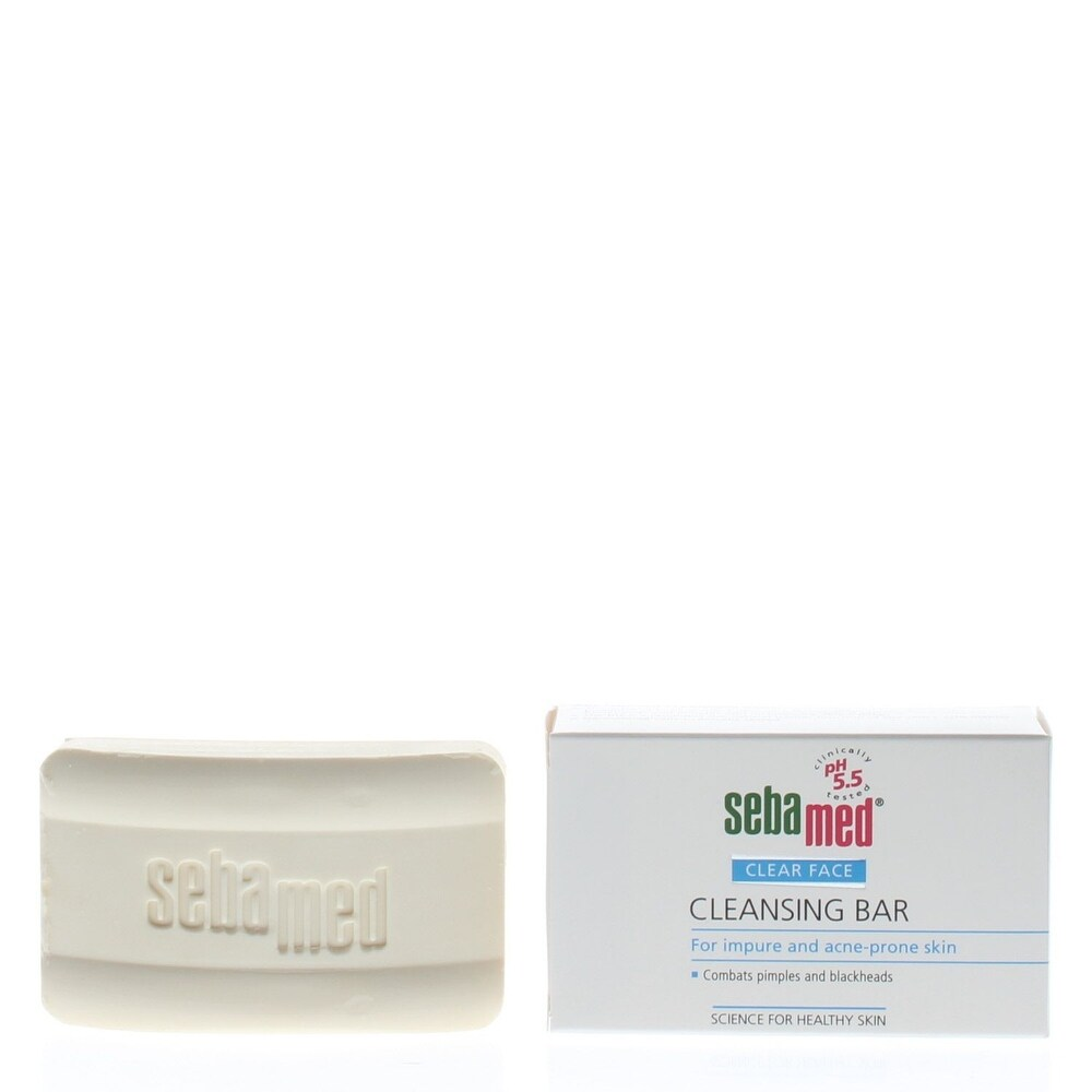 Sebamed Clear Face Cleansing Bar For Impure And Acne-Prone Skin 100Gr/3.5 Oz (Bar)