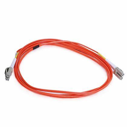 Câble fibre optique, OM2 LC/LC, multi mode, duplex - (type 50/125) - orange - Monoprice® - 2m