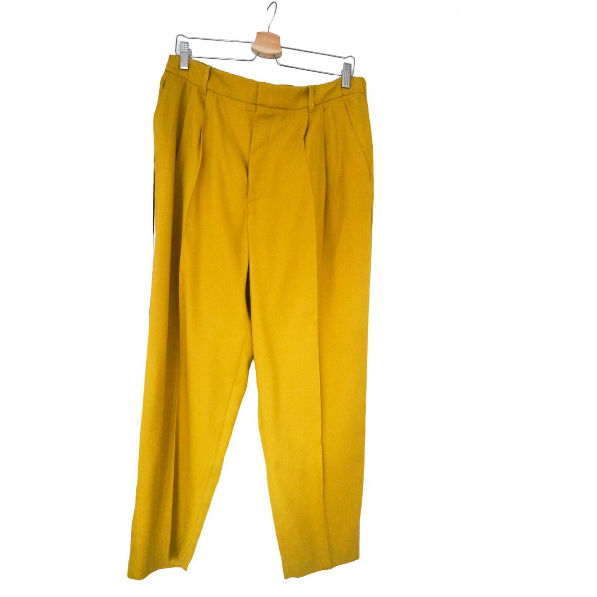 Zara \N Cotton Trousers for Women L International