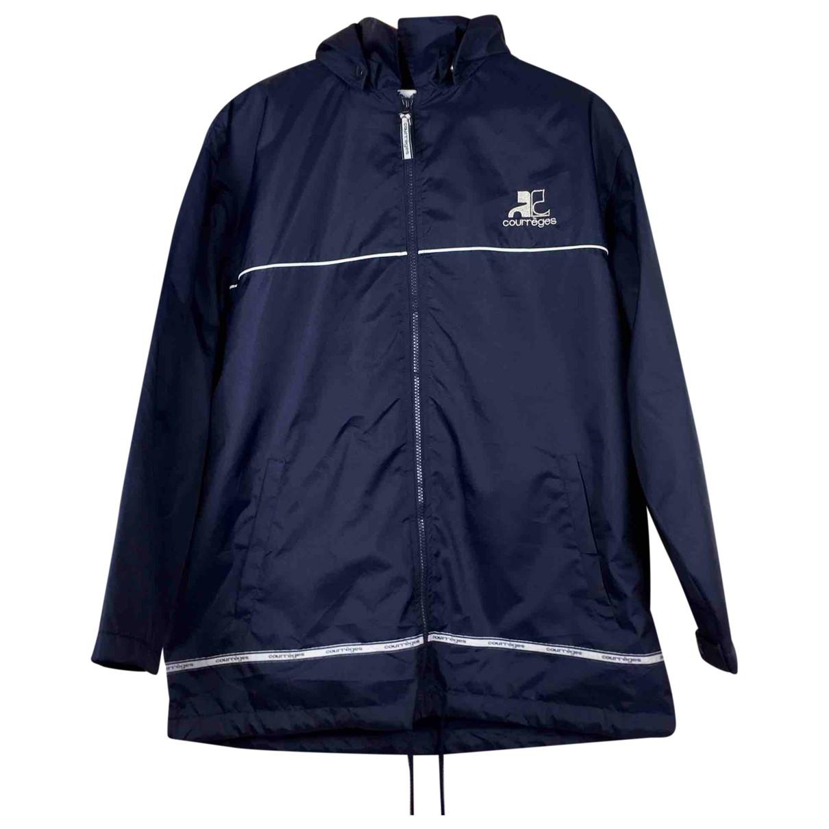 Courrèges \N Blue jacket  for Men M International