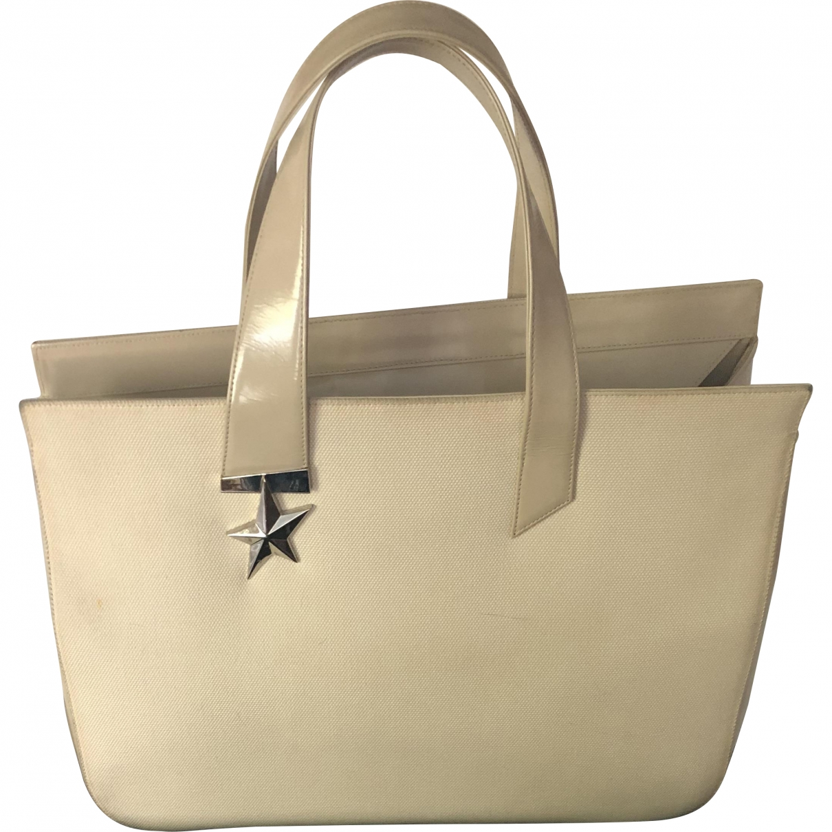 Thierry Mugler \N Beige Leather handbag for Women \N