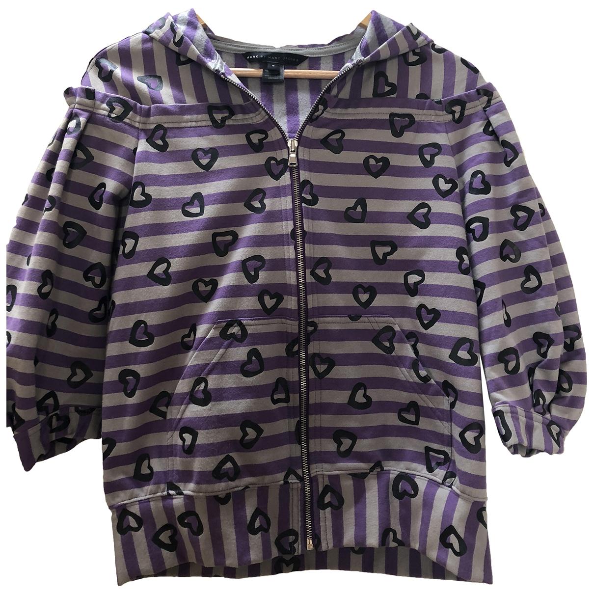 Marc By Marc Jacobs - Veste   pour femme en coton - violet