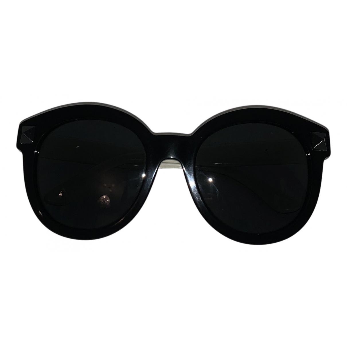 Valentino Garavani - Lunettes   pour femme - noir