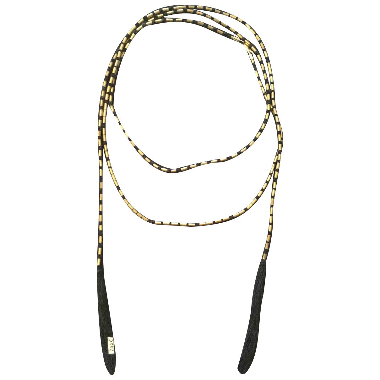 Isabel Marant \N Gold Metal Long necklace for Women \N