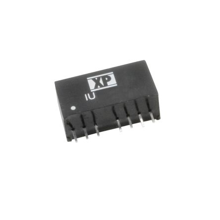 XP Power IU 2W Isolated DC-DC Converter Through Hole, Voltage in 4.5 → 9 V dc, Voltage out 24V dc