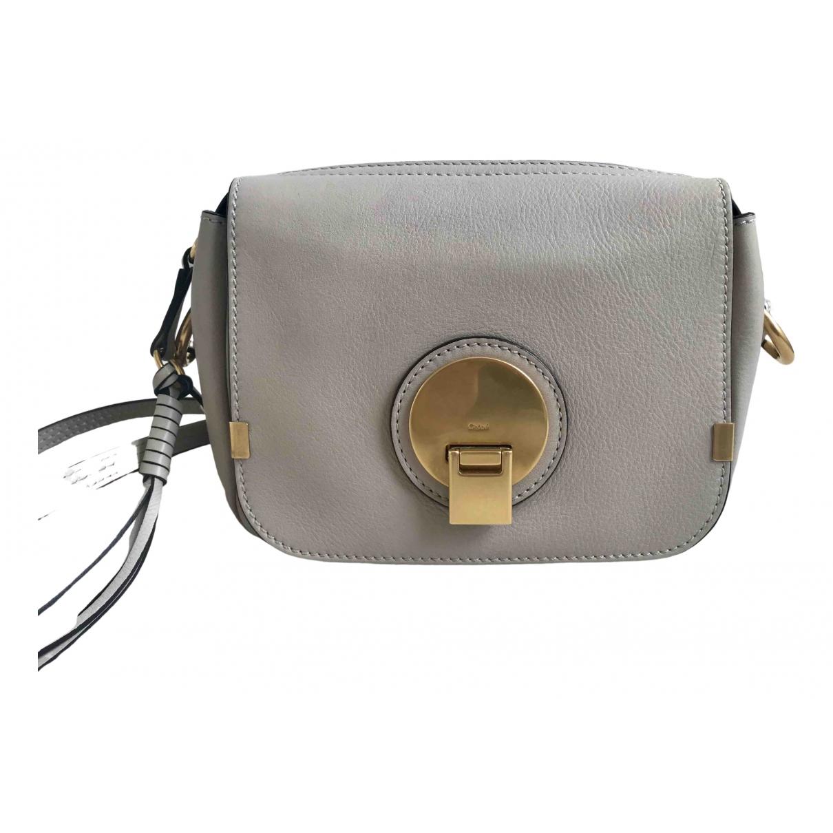 Chloé Indy Grey Leather handbag for Women \N