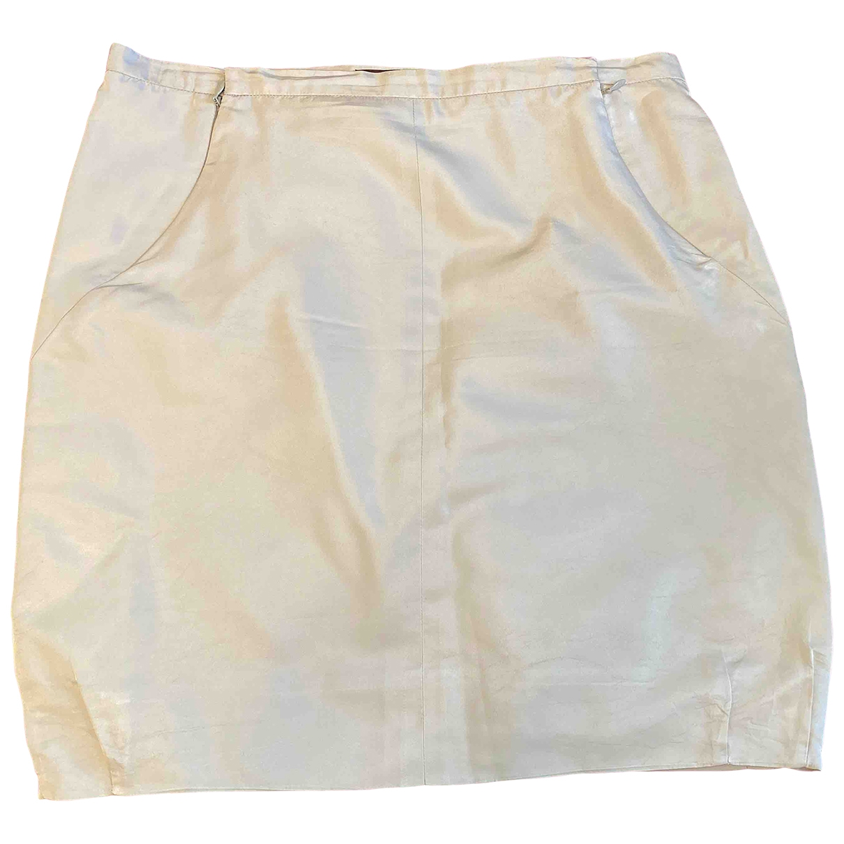 Louis Vuitton \N Grey Silk skirt for Women 40 FR