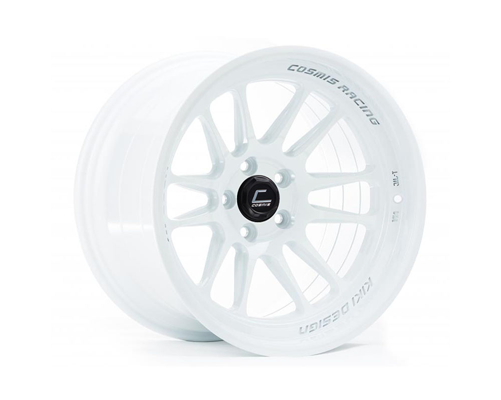 Cosmis Racing XT206R-1811-8-5x114.3-W XT-206R Wheel 18x11 5x114.3 +8mm White