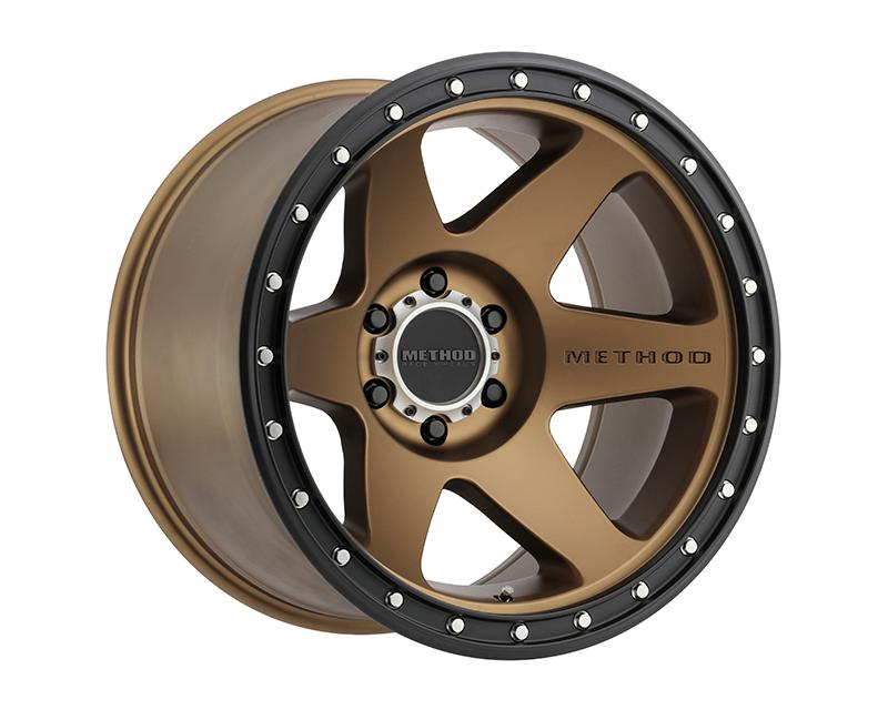Method MR610 Con6 Bronze Wheel 20x10 8x170 -24mm