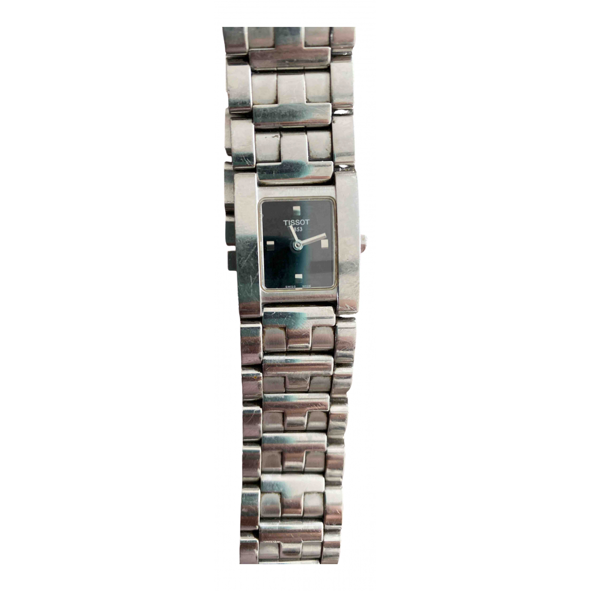 Tissot \N Silver Steel watch for Women \N