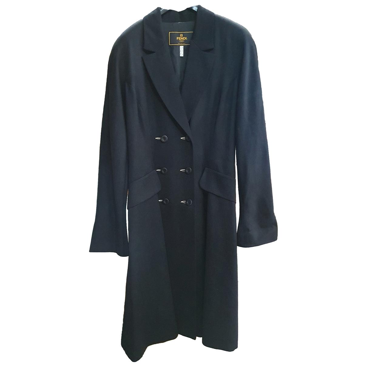 Fendi - Manteau   pour femme en laine