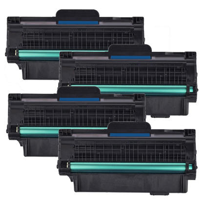 Compatible Dell 330-9523 2MMJP 7H53W Black Toner Cartridge High Yield - Economical Box - 4/Pack