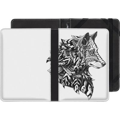 Sony Reader PRS-T1 eBook Reader Huelle - Wolf Profile von BIOWORKZ