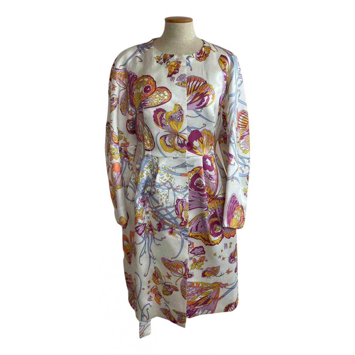 Emilio Pucci - Manteau   pour femme en soie - multicolore