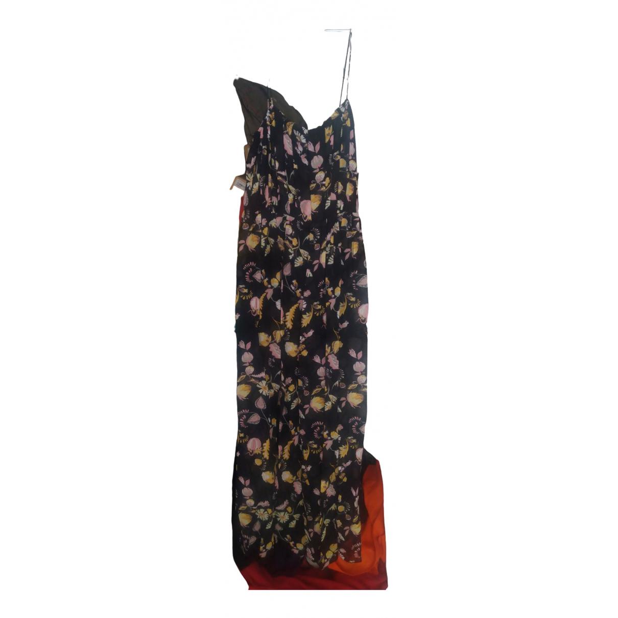 Jill Stuart \N Kleid in  Schwarz Viskose