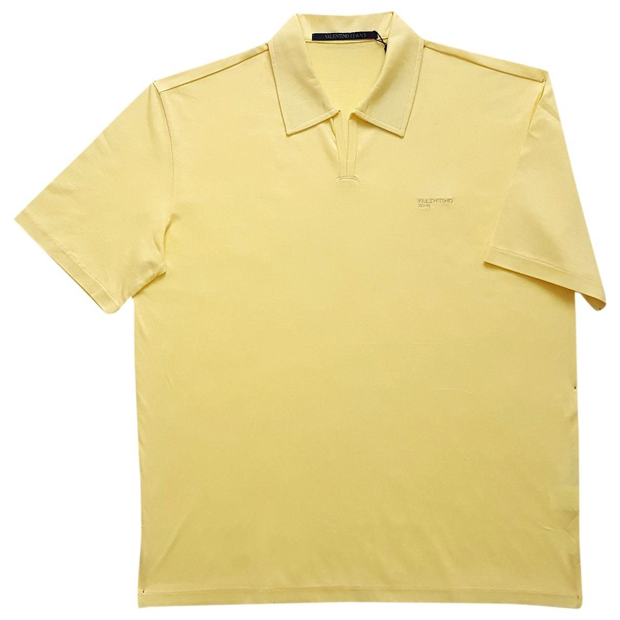 Valentino Garavani \N Poloshirts in  Gelb Baumwolle