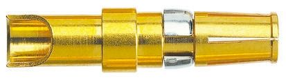 HARTING Female Solder D-Sub Connector Power Contact, Gold Plated Power, 12 → 10 AWG