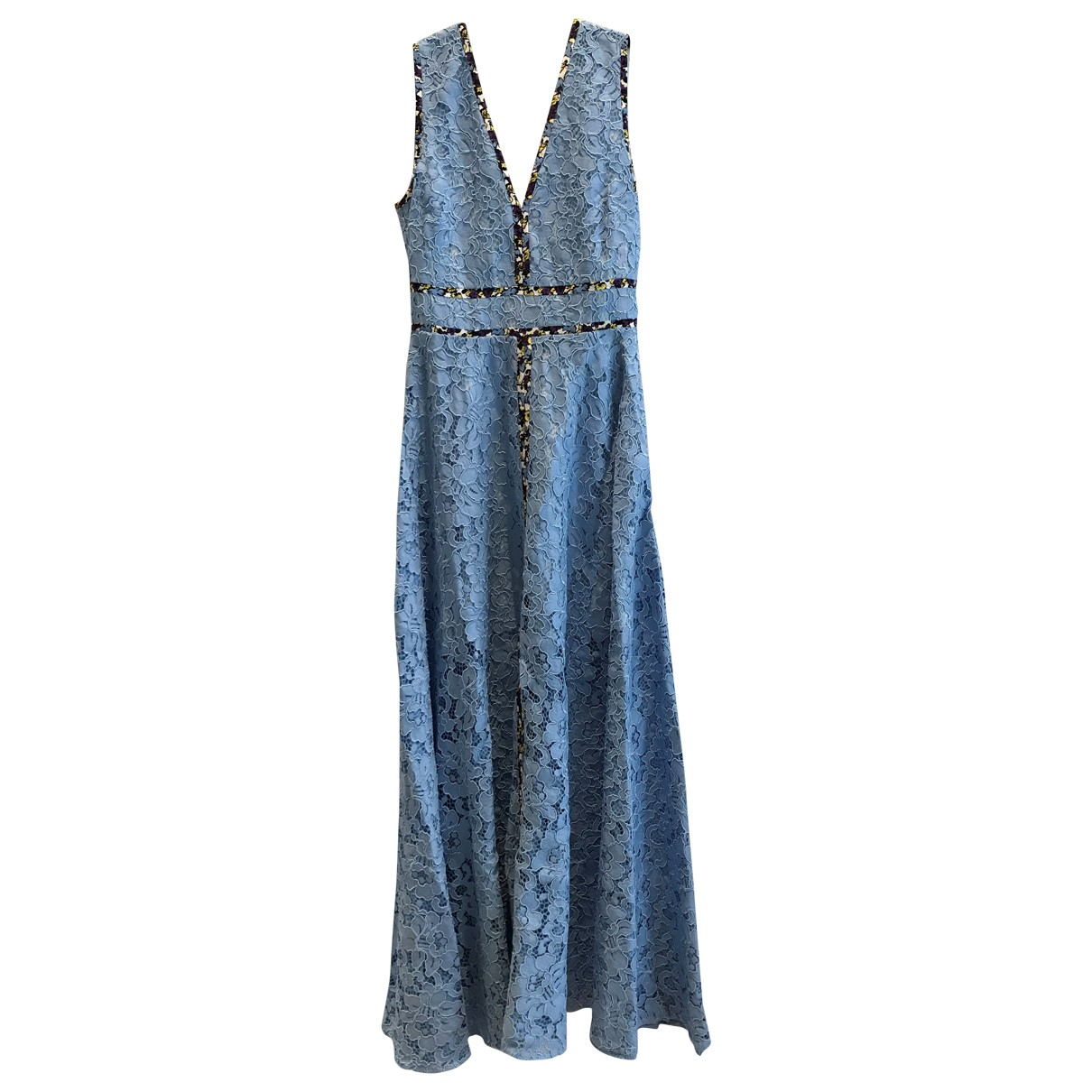 Msgm \N Kleid in  Blau Polyester