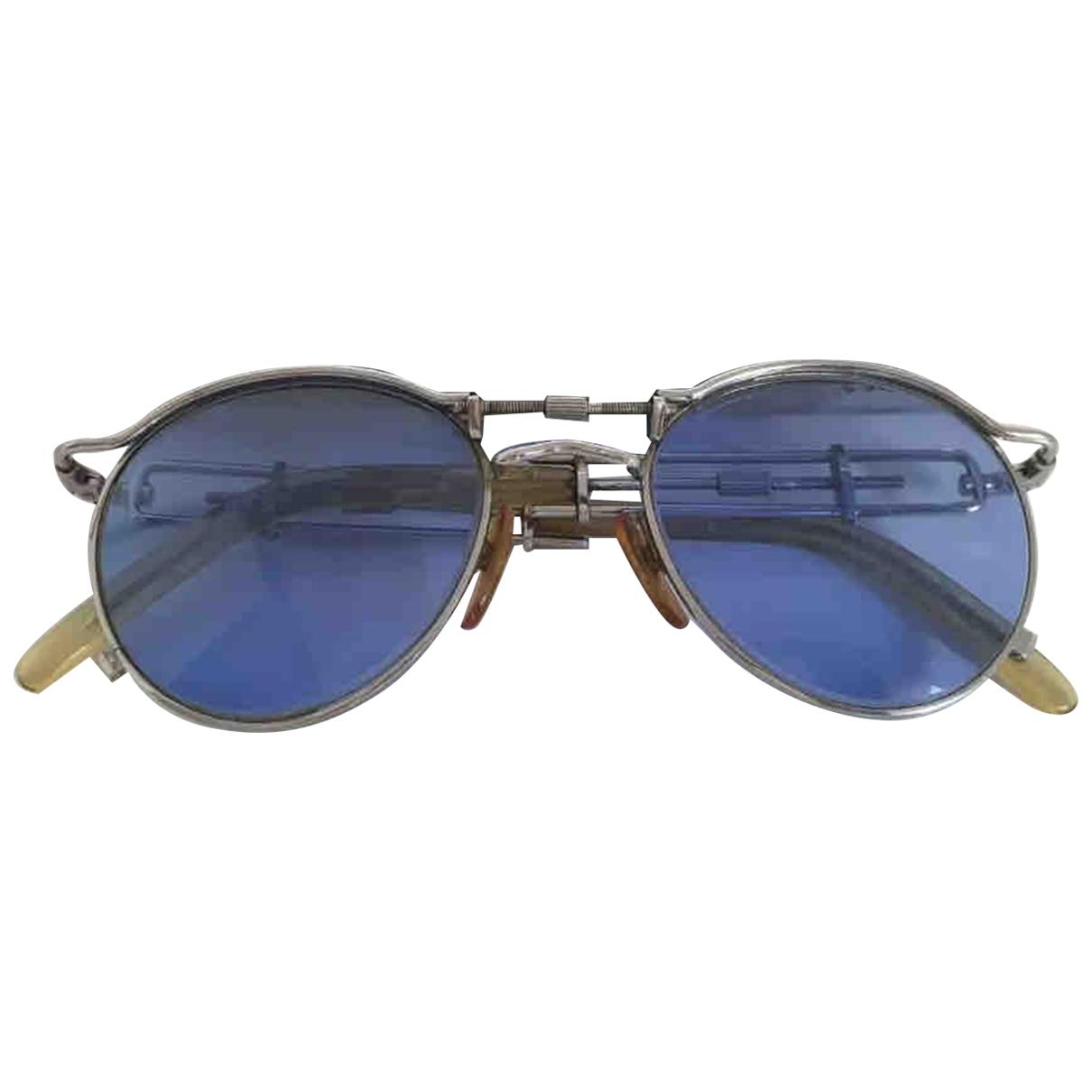 Jean Paul Gaultier \N Silver Metal Sunglasses for Men \N