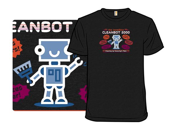 Cleanbot 2000 T Shirt