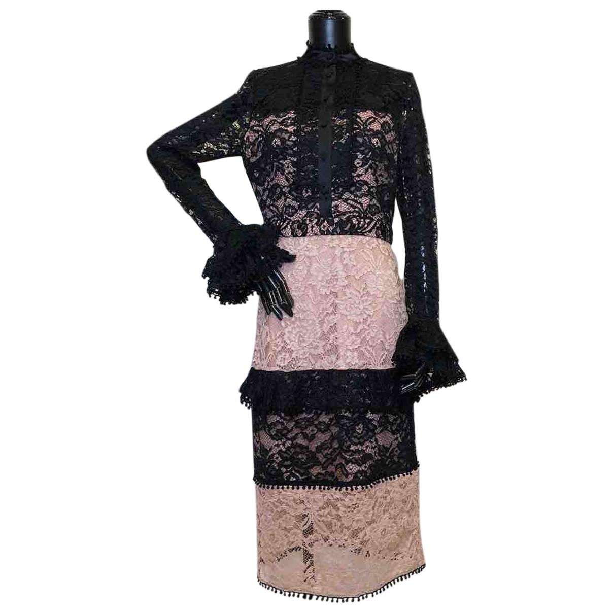 Alexis \N Kleid in  Beige Polyester