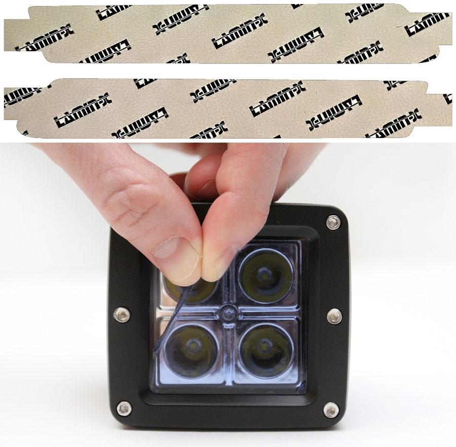 Scion FR-S 13-16 Blue LED DRL Covers Lamin-X SC108B