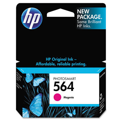 HP 564 CB319WN Original Magenta Ink Cartridge