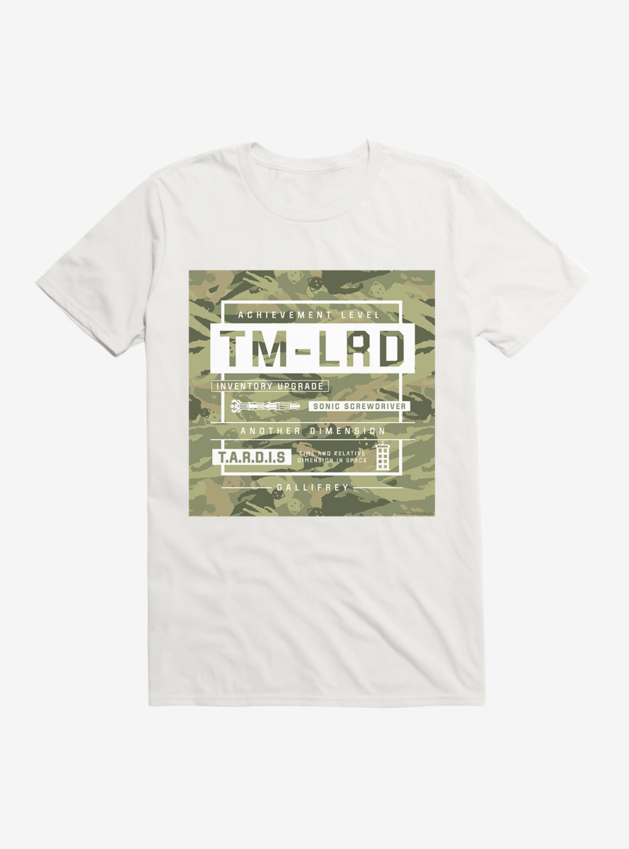 Doctor Who Inventory Upgrade T-Shirt