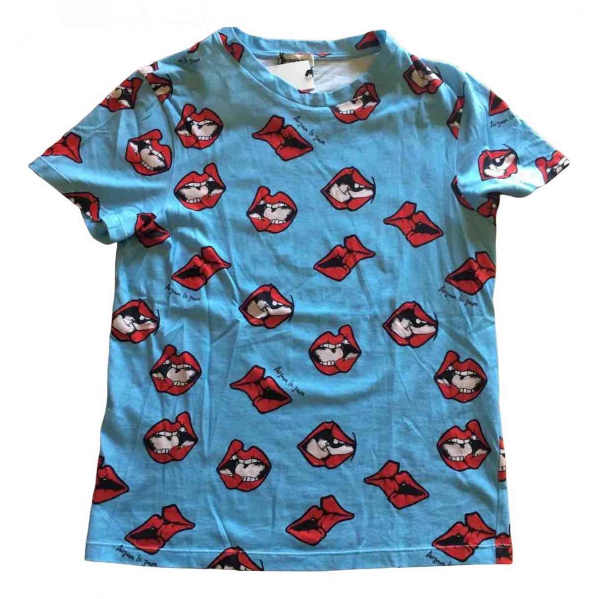 Au Jour Le Jour N Turquoise Cotton  top for Women 40 IT