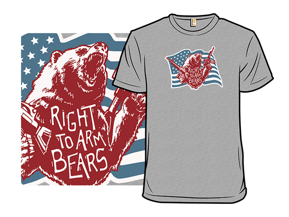 Arm Bears T Shirt