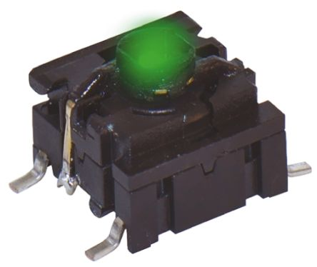 MEC IP67 Cap Tactile Switch, Single Pole Single Throw (SPST) 50 mA @ 24 V dc