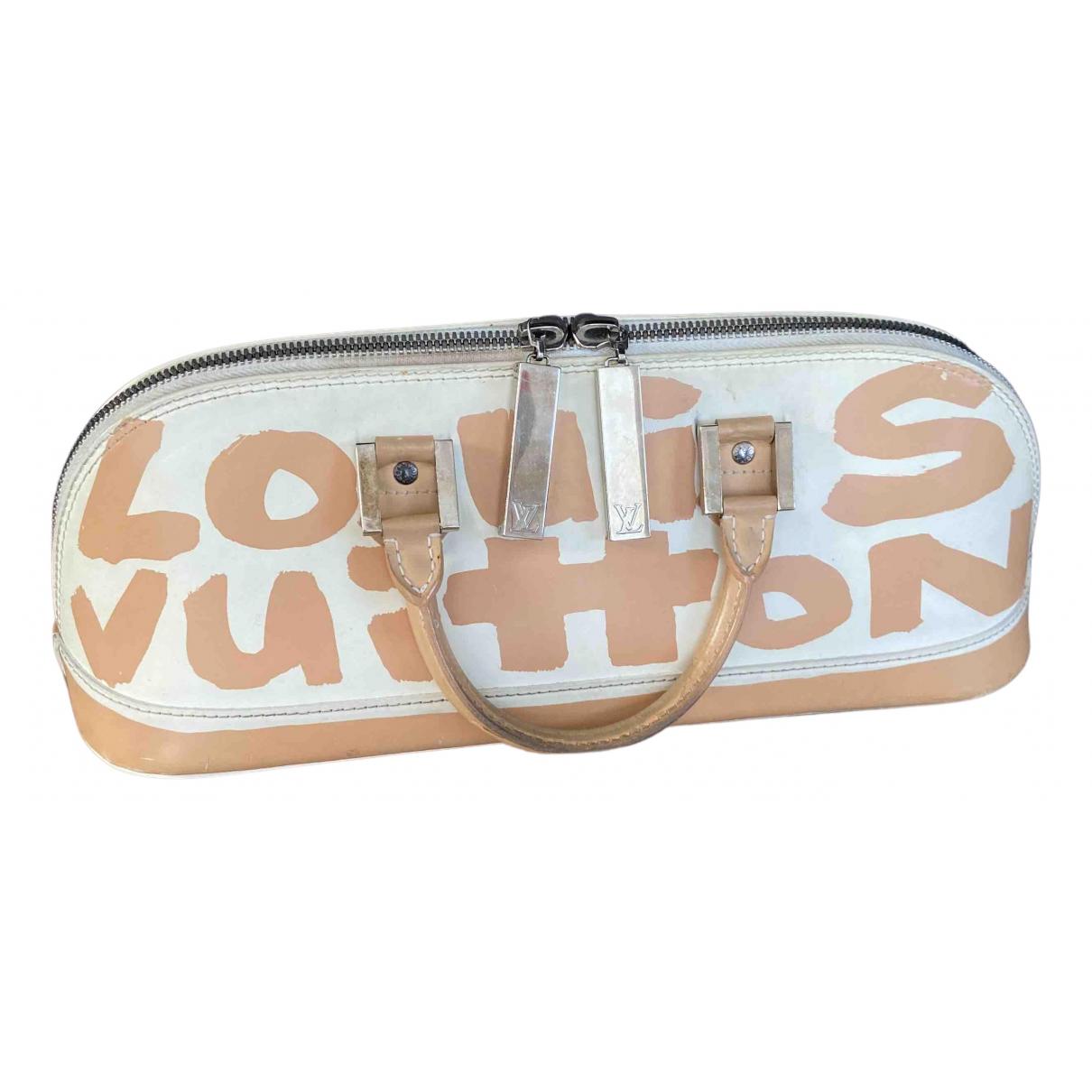Louis Vuitton - Sac a main Alma pour femme en toile