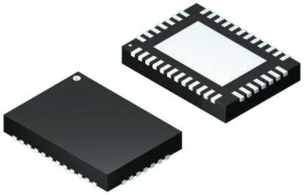 Analog Devices LTC4266IUHF#PBF, Ethernet Controller, I2C, 3.3 V, 38-Pin QFN